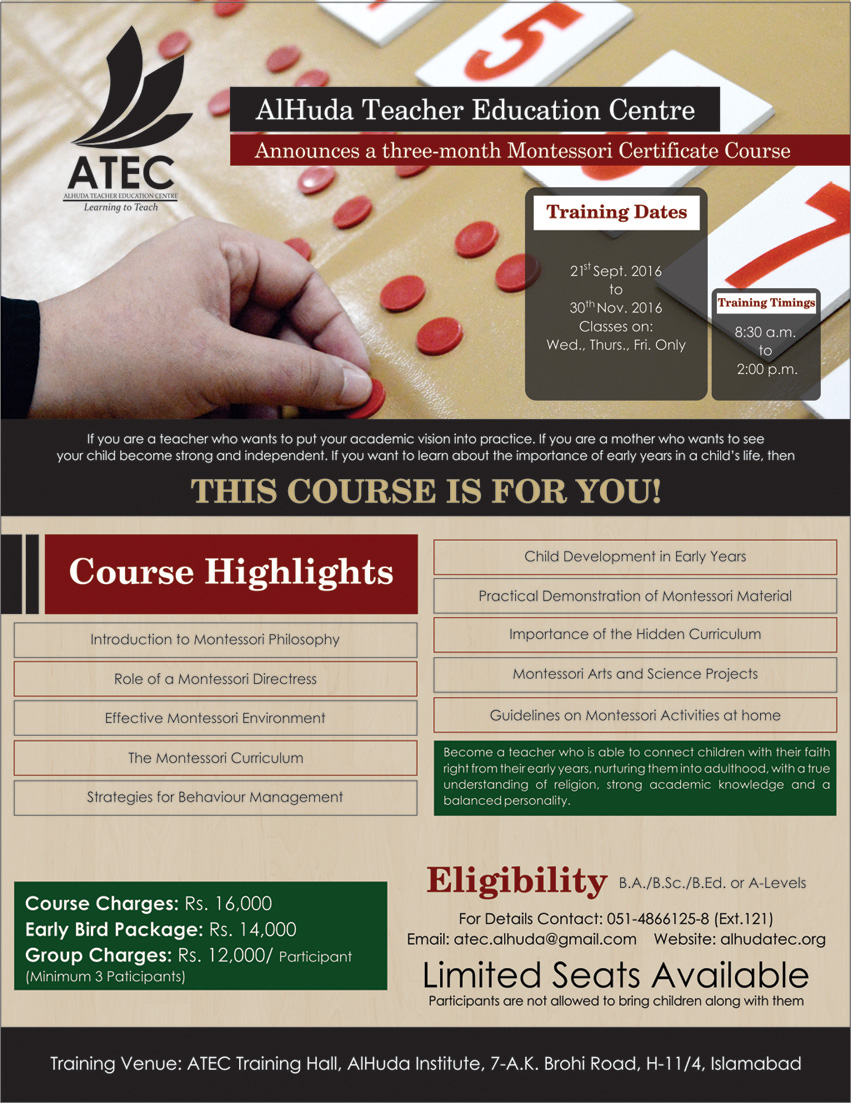 ATEC-MONTESSORI CERTIFIED COURSE-FRONT