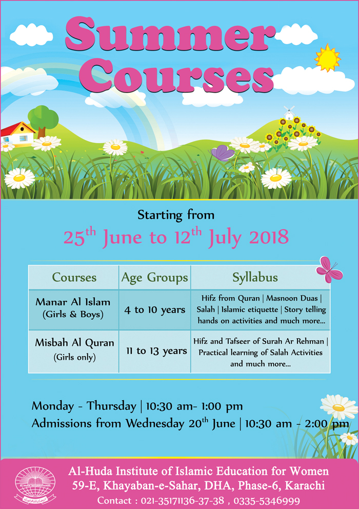 summer courses2018 for kids