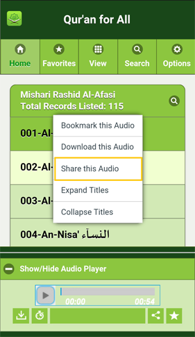 Share Audio 1